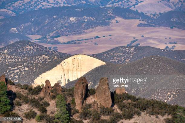 pinnacles east, pinnacles national park - don smith stock pictures, royalty-free photos & images