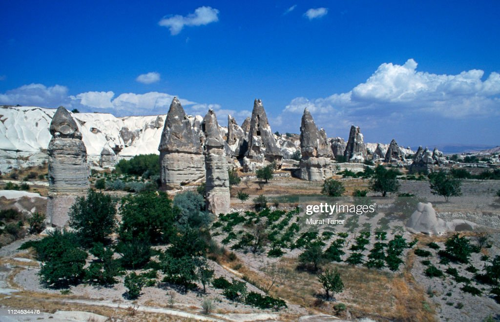 Pinnacles in Cappadocia : Stock Photo
