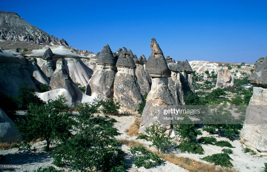 Pinnacles in Cappadocia : Stock Photo