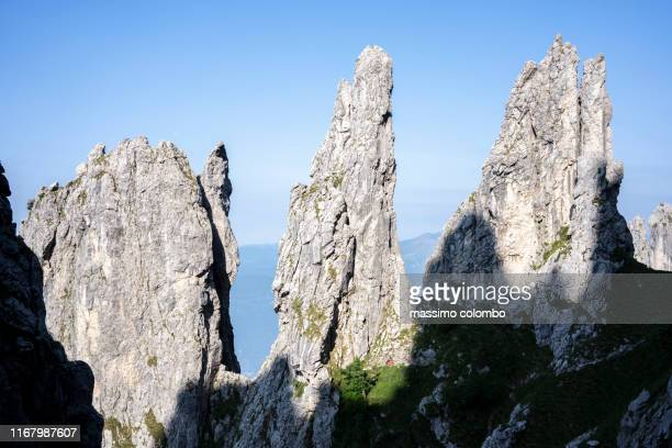 Pinnacles On The Grigna Mountain