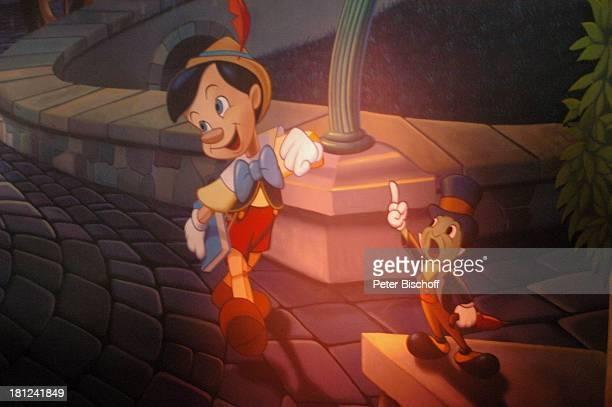 Pinocchio Pinnochios Fantastic Journey Disneyland Park Disneyland Resort Paris Paris/Frankreich Europa Bild Freizeitpark Vergnügungspark Reise