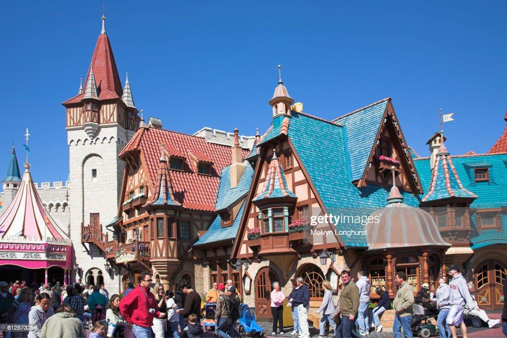 Orlando Haus pinocchio haus restaurant fantasyland magic kingdom disney