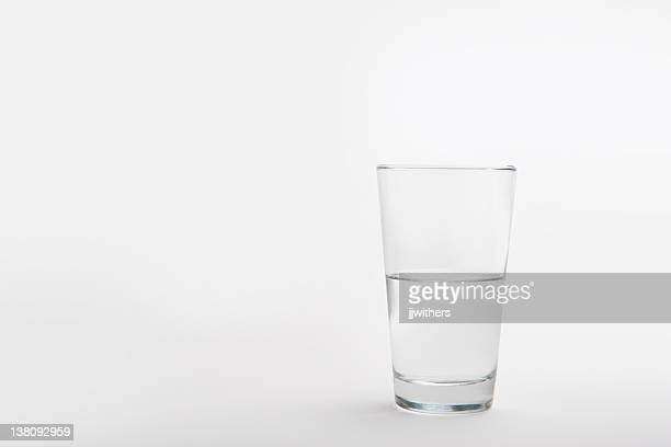 pint glass half full - half full stock photos and pictures
