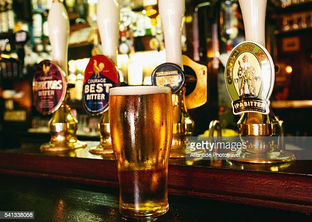 Pint of Beer at Red Lion Pub