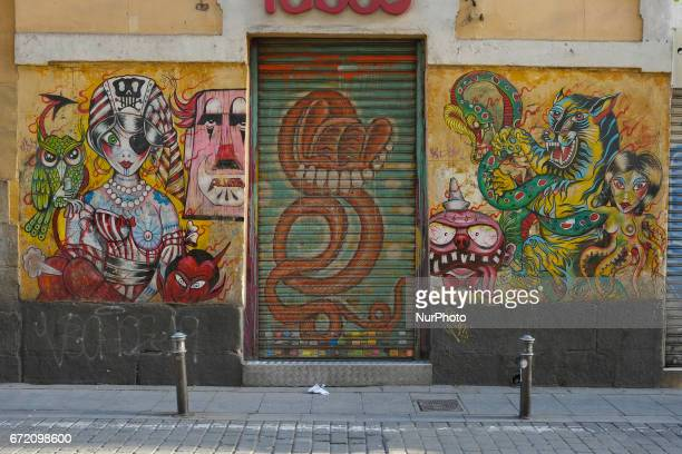 ¡Pinta Malasana Artists illustrators and graphic designers of color fill the streets of the District of Malasaña In total there are 100 selected...