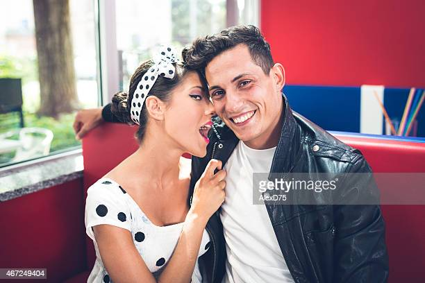 Pinup and Rockabilly Couple - 1950's style