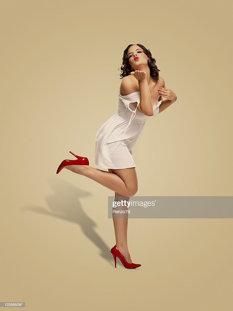 Pin Up Girl Stock Pictures Royalty Free Photos Images Getty