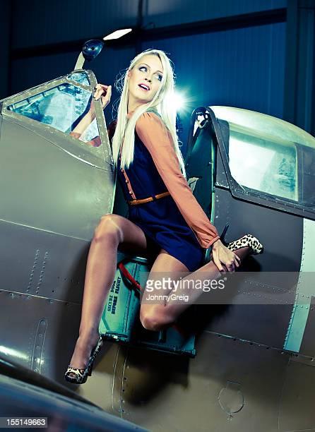 Pin-Up Girl - Spitfire Aeroplane