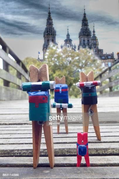 Pinzas pilgrimage to Santiago de Compostela