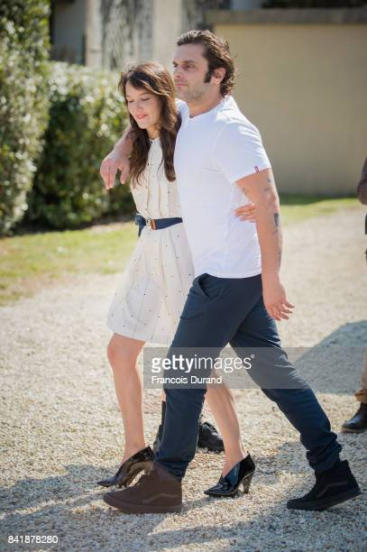 Pio Marmai and Anais Demoustier pose at the Revelation Jury photocall during the 43rd Deauville American Film Festival on September 2 2017 in...
