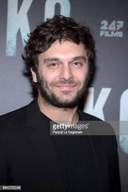 Pio Marmai attends KO Premiere at Gaumont Capucines on June 9 2017 in Paris France