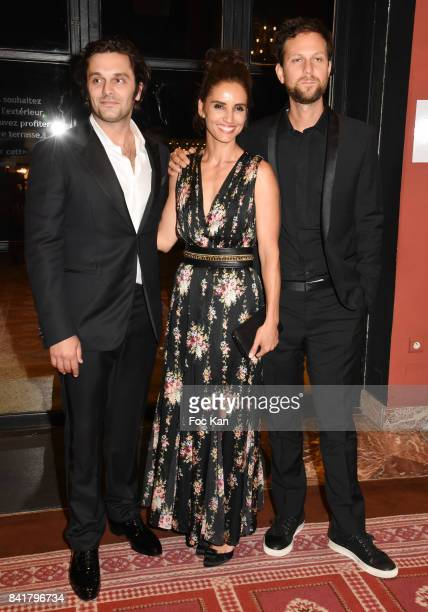 Pio Marmai Leonor Varela and Pierre Rochefort attend the Opening ceremony Dinner of the 43rd Deauville American Film Festival at Casino on September...