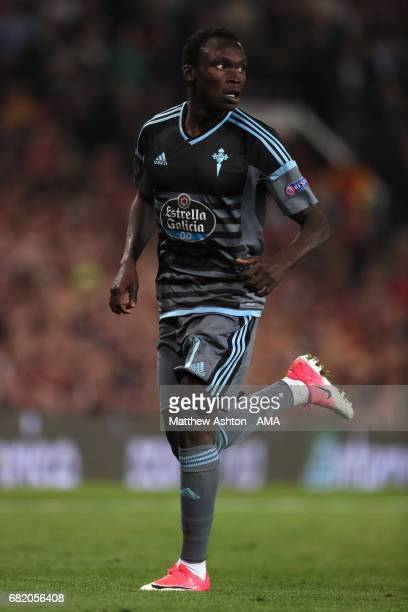 Pione Sisto of Celta Vigo in action during the UEFA Europa League semi final second leg match between Manchester United and Celta Vigo at Old...