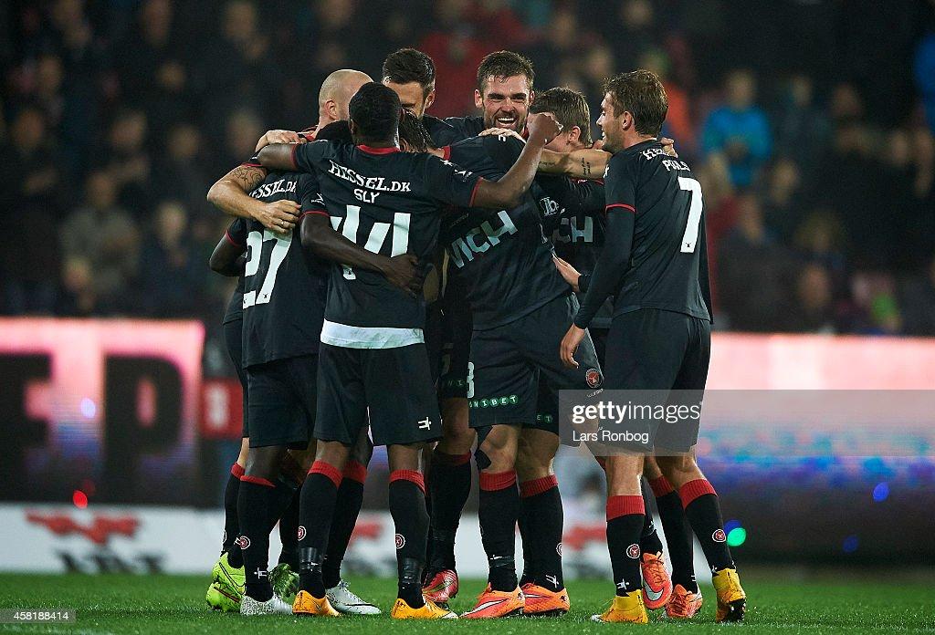 Sonderjyske vs FC Midtjylland - Danish Superliga : News Photo