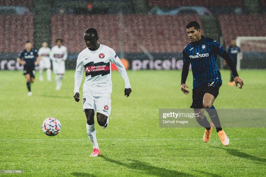 FC Midtjylland v Atalanta BC: Group D - UEFA Champions League : News Photo