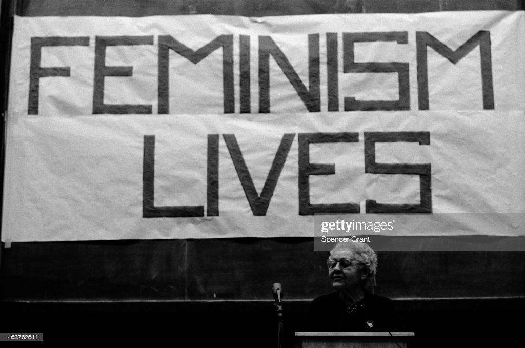 Feminism : News Photo