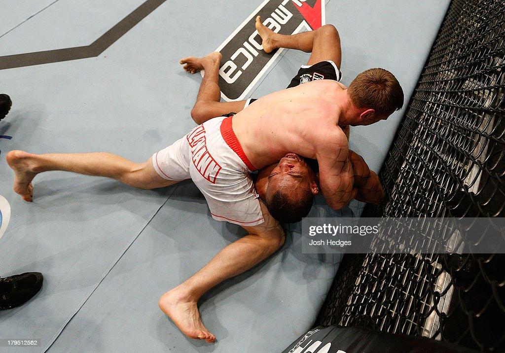 UFC on FOX Sports 1: Trinaldo v Hallmann : News Photo