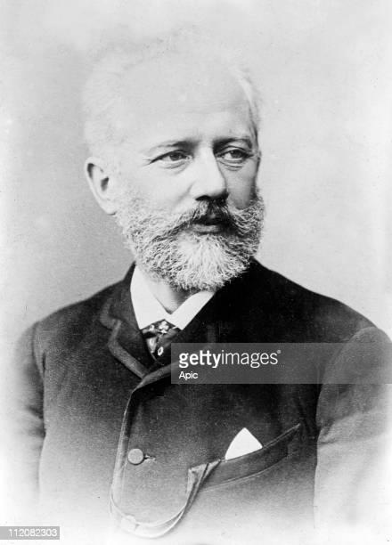 Piotr Illich Tchaikovsky russian composer here c 1890