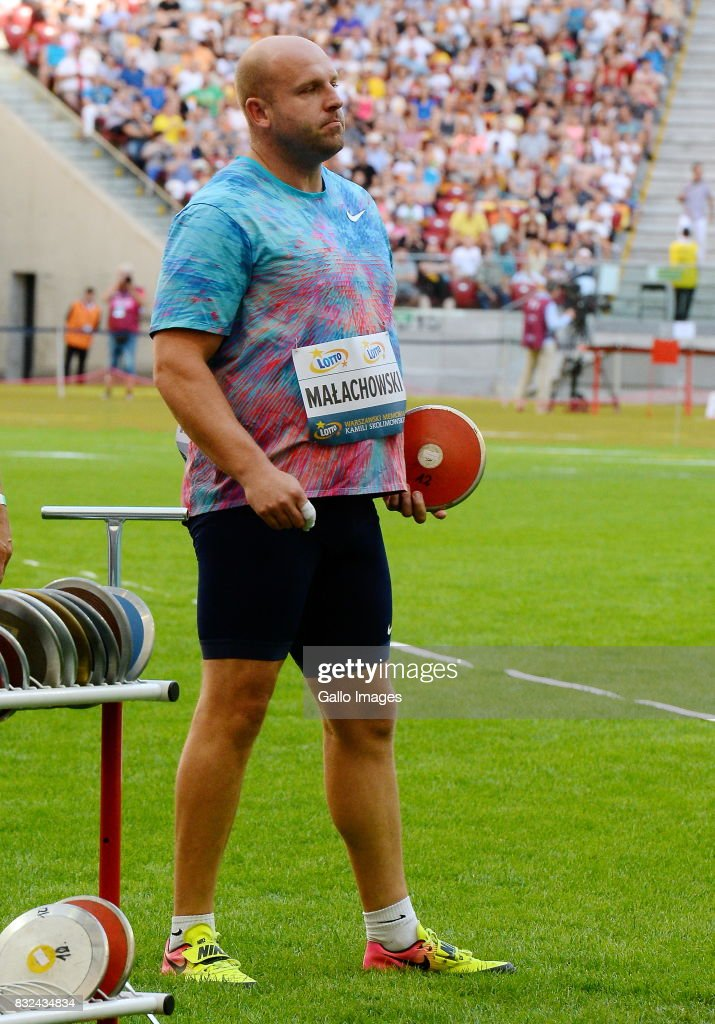 Piotr Malachowski during the European Athletics Meeting Kamila Skolimowska Memorial at the National Stadium on August 15, 2017 in Warsaw, Poland. It is the 8th edition of the Warsaw Memorial organized since 2009.