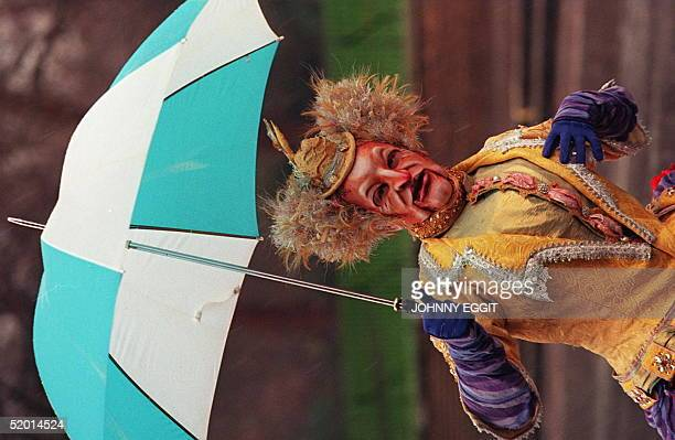 Piotr Matula Old Bird takes a look at the weather 05 January during a break in rehearsals at the Royal Albert Hall Piotr is part of the cast of the...