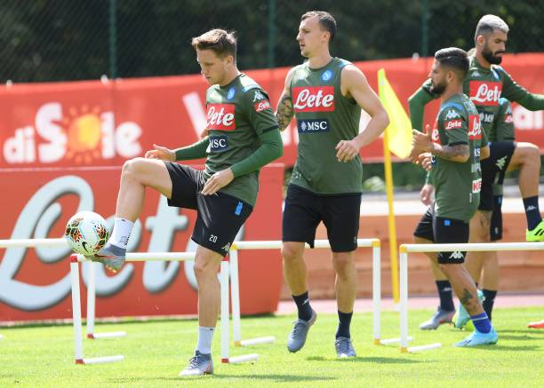 ITA: SSC Napoli Pre-Season Training Camp