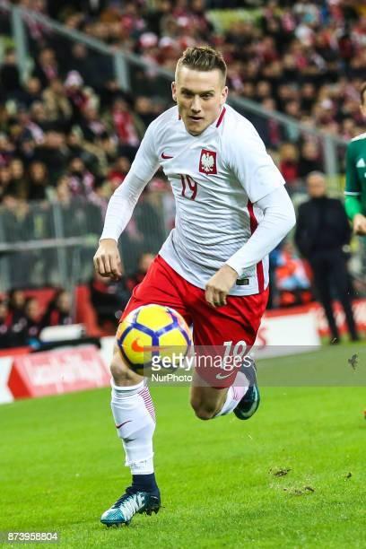Piotr Zielinski during the International Friendly match between Poland and Mexico at Energa Stadium in Gdansk Poland on November 13 2017