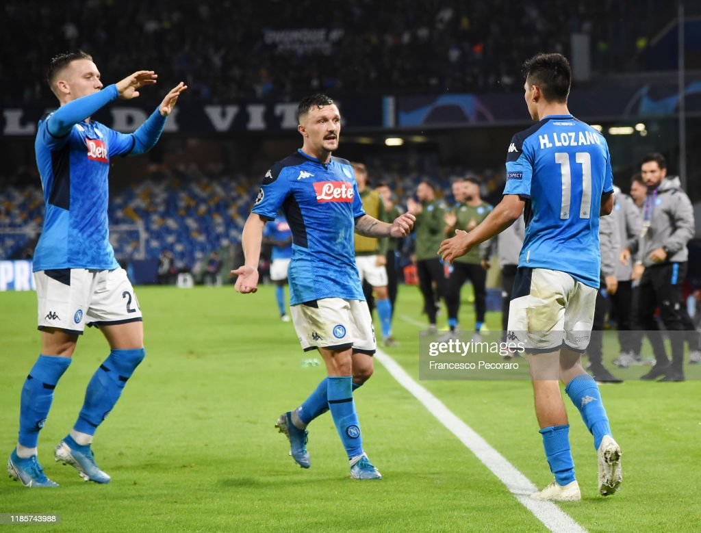 SSC Napoli v RB Salzburg: Group E - UEFA Champions League : News Photo