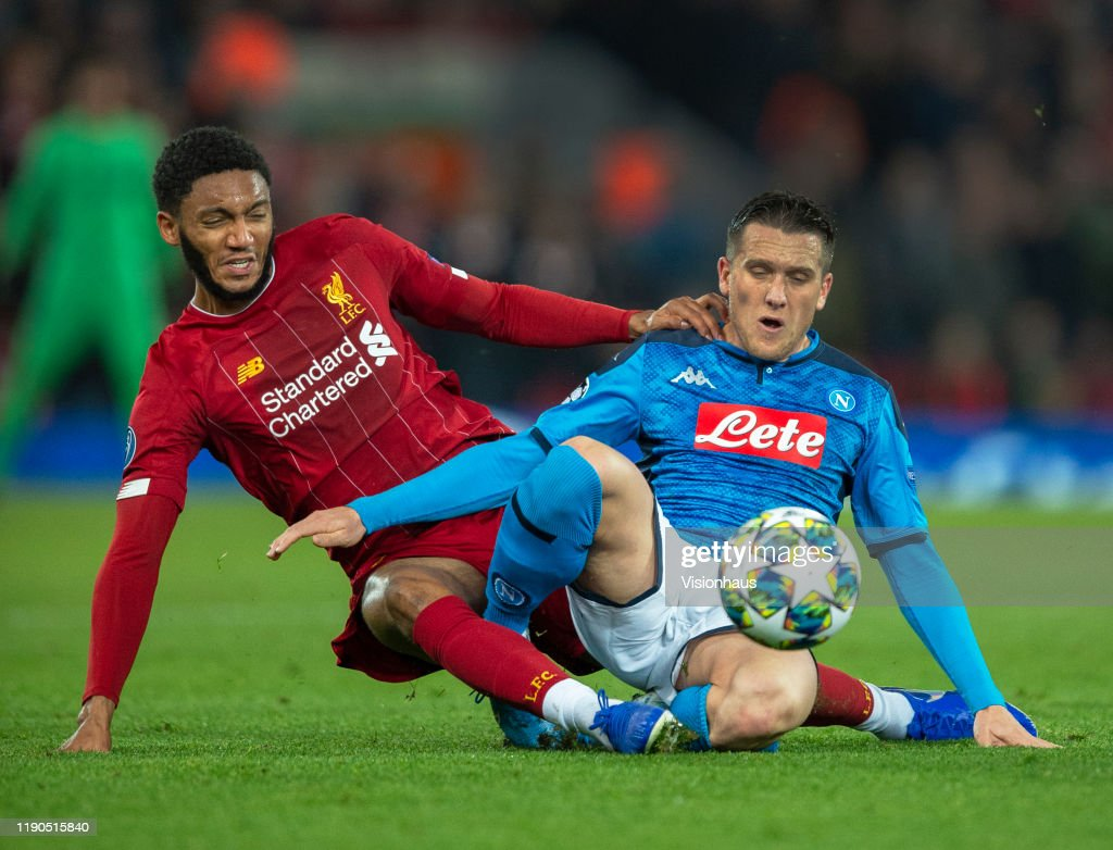 Liverpool FC v SSC Napoli: Group E - UEFA Champions League : News Photo