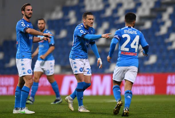 ITA: US Sassuolo  v SSC Napoli - Serie A