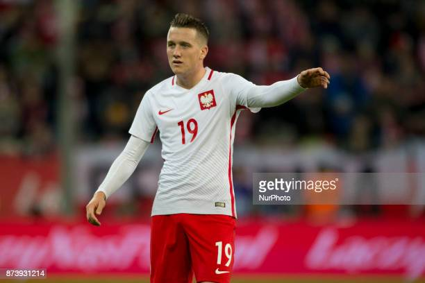 Piotr Zielinski of Poland during the International Friendly match between Poland and Mexico at Energa Stadium in Gdansk Poland on November 13 2017