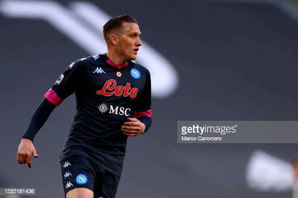 Piotr Zielinski of Ssc Napoli looks on during the Serie A match between Juventus Fc and Ssc Napoli. Juventus Fc wins 2-1 over Ssc Napoli.