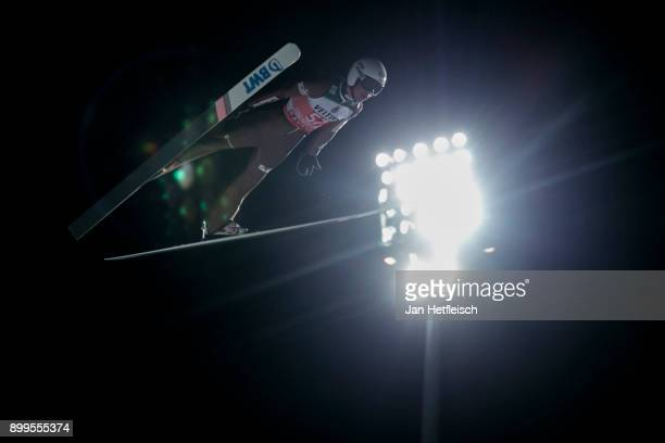 Piotr Zyla of Poland competes during the qualification round for the Four Hills Tournament on December 29 2017 in Oberstdorf Germany