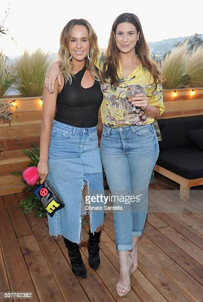 Pip Edwards and Rachel Zeilic attend House of Harlow 1960 x REVOLVE on June 2, 2016 in Los Angeles, California.
