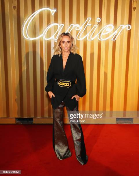 Pip Edwards attends the Cartier Precious Garage Party on November 29 2018 in Sydney Australia