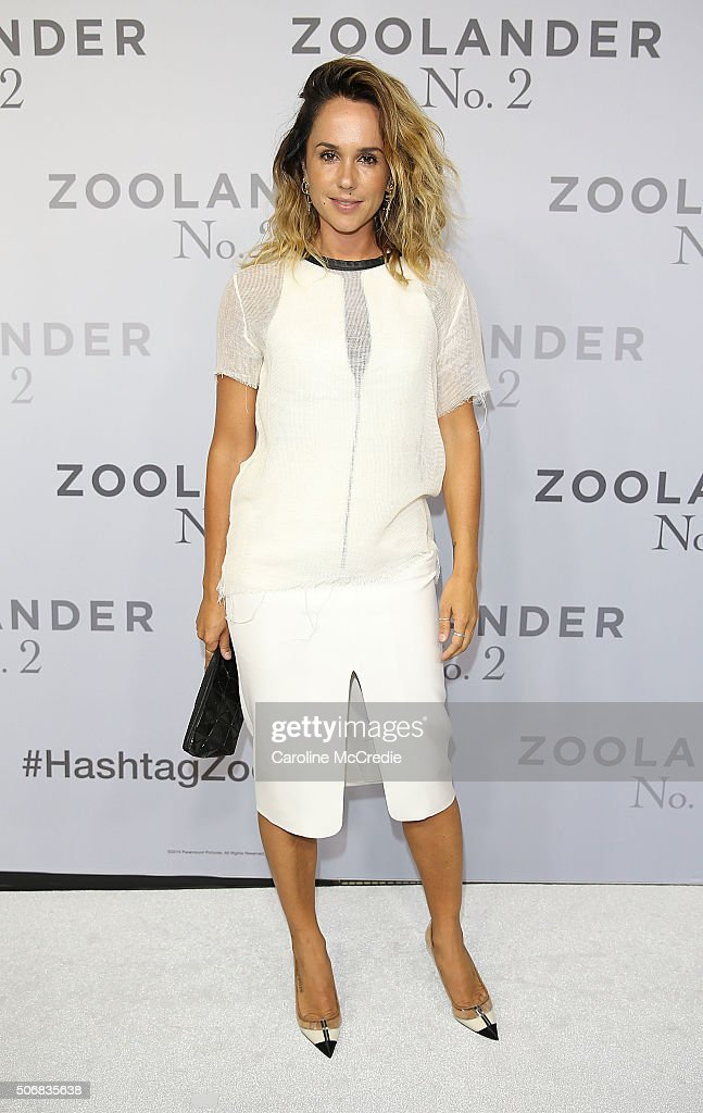 Pip Edwards attends the Sydney Fan Screening Event of the Paramount Pictures film 'Zoolander No. 2' at the State Theatre on January 26, 2016 in Sydney, Australia.