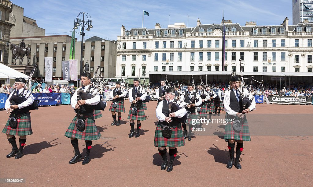 Pipe Band : Stock Photo