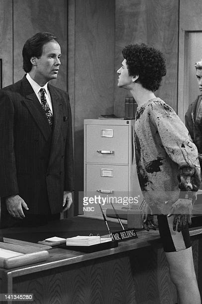 BELL 'Pipe Dreams' Episode 11 Air Date Pictured Dennis Haskins as Mr Richard Belding Dustin Diamond as Screech Powers Photo by Joseph Del Valle/NBCU...