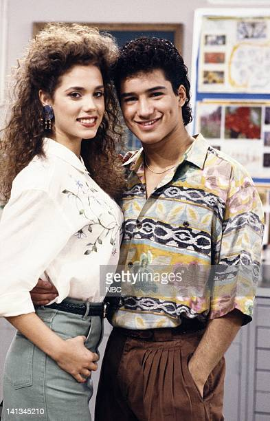 BELL 'Pipe Dreams' Episode 11 Air Date Pictured Elizabeth Berkley as Jessie Spano Mario Lopez as AC Slater Photo by Joseph Del Valle/NBCU Photo Bank