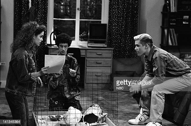 BELL 'Pipe Dreams' Episode 11 Air Date Pictured Elizabeth Berkley as Jessie Spano Dustin Diamond as Screech Powers MarkPaul Gosselaar as Zack Morris...