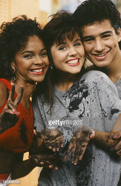 BELL 'Pipe Dreams' Episode 11 Air Date Pictured Lark Voorhies as Lisa Turtle Tiffani Thiessen as Kelly Kapowski Mario Lpez as AC Slater Photo by...