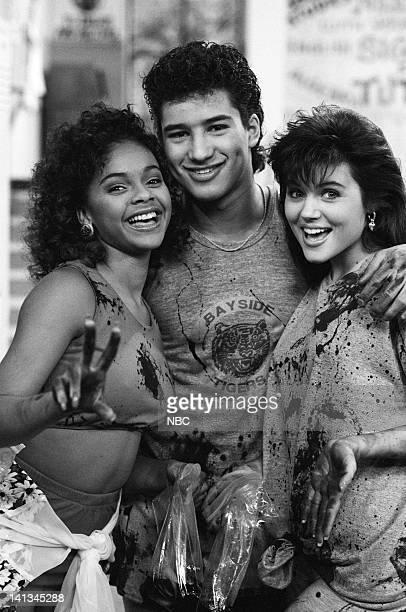 BELL 'Pipe Dreams' Episode 11 Air Date Pictured Lark Voorhies as Lisa Turtle Mario Lopez as AC Slater Tiffani Thiessen as Kelly Kapowski Photo by...