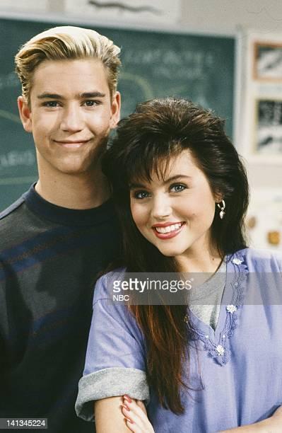 BELL 'Pipe Dreams' Episode 11 Air Date Pictured MarkPaul Gosselaar as Zack Morris Tiffani Thiessen as Kelly Kapowski Photo by Joseph Del Valle/NBCU...