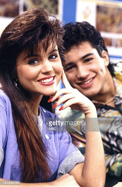 BELL 'Pipe Dreams' Episode 11 Air Date Pictured Tiffani Thiessen as Kelly Kapowski Mario Lopez as AC Slater Photo by Joseph Del Valle/NBCU Photo Bank
