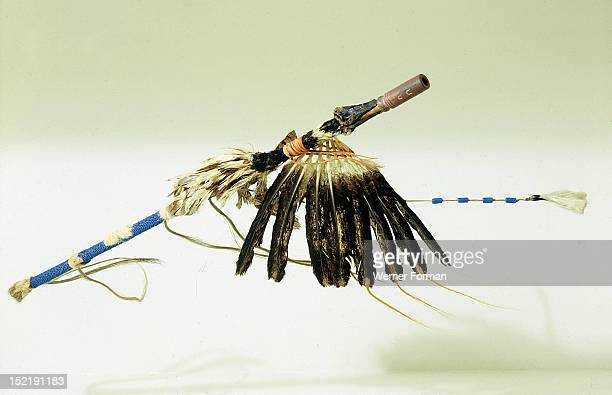 Pipe On the warpath the leader of a Crow war party would regularly sit apart from the others and smoke the pipe he carried in an attempt to establish...