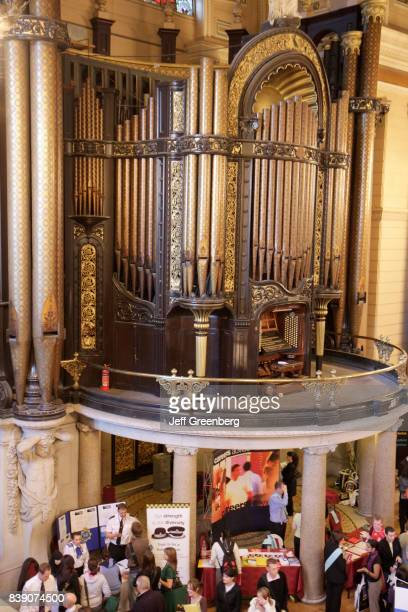 Pipe organ in St. George's Hall.
