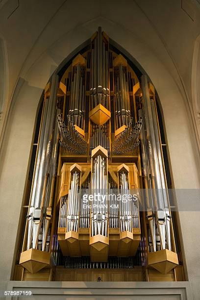 Pipe organ, Reykjavik, Iceland