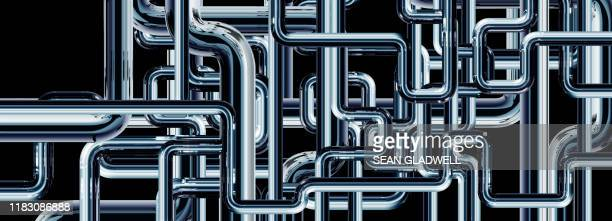 pipe plumbing illustration - illustration stock pictures, royalty-free photos & images