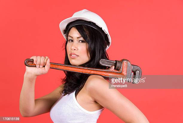 Pipe Wrench Woman