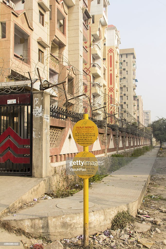 Piped Natural Gas New Delhi India Stock Photo - Getty Images