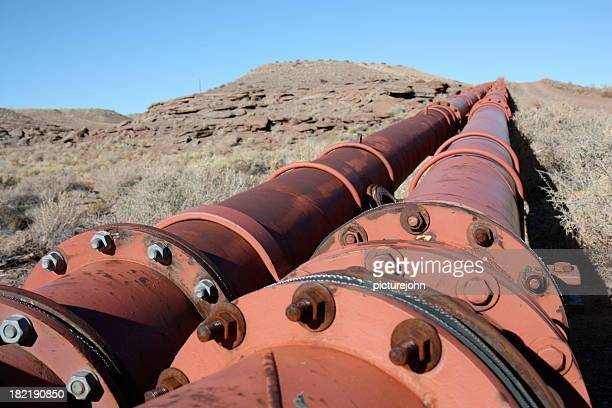 Pipeline in the wilderness